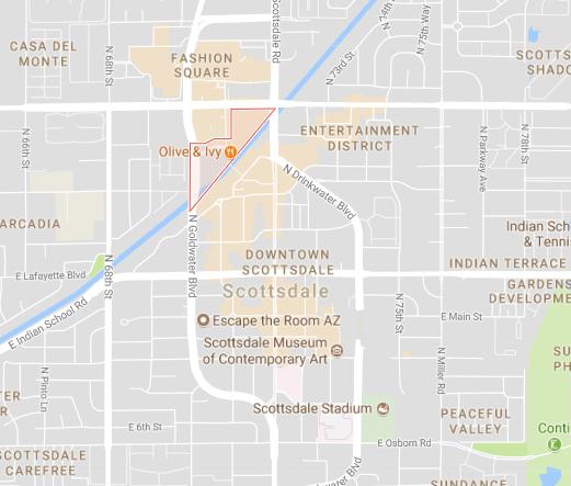 Waterfront Neighborhood of Scottsdale AZ