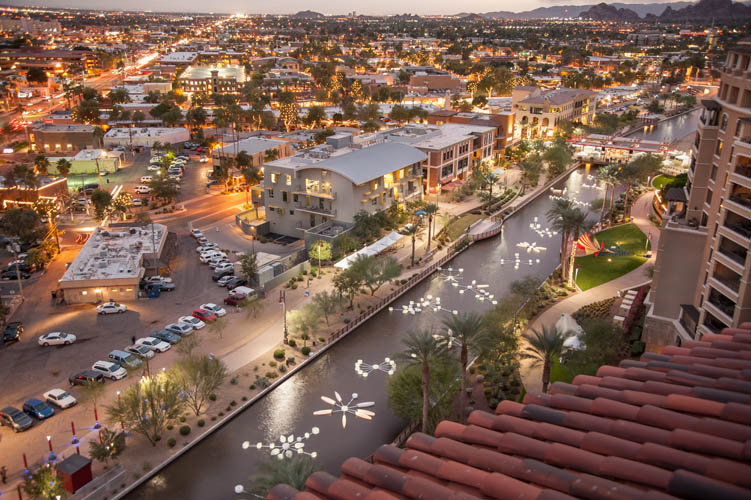 Scottsdale AZ waterfront lifestyle