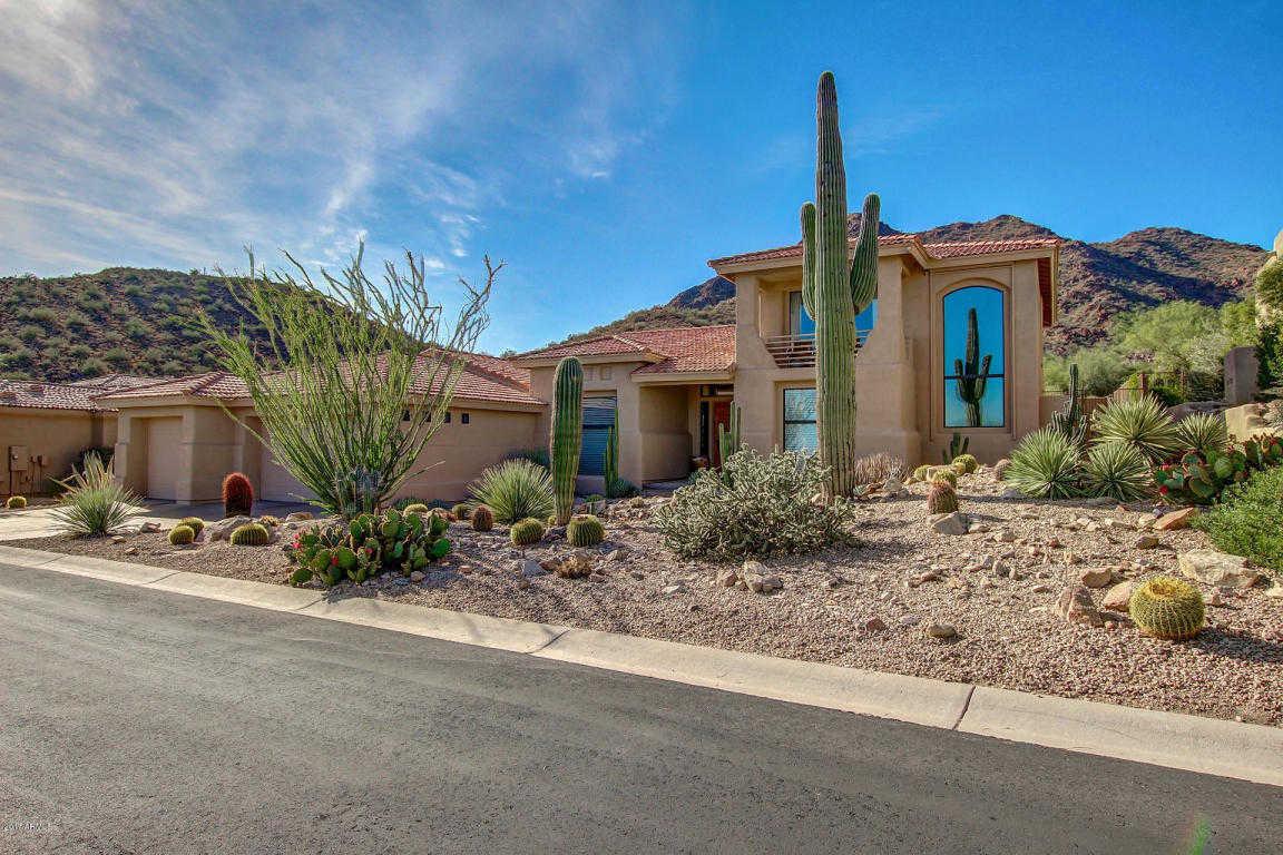 A custom built home in Scottsdale AZ, Scottsdale Mountain Neighborhood