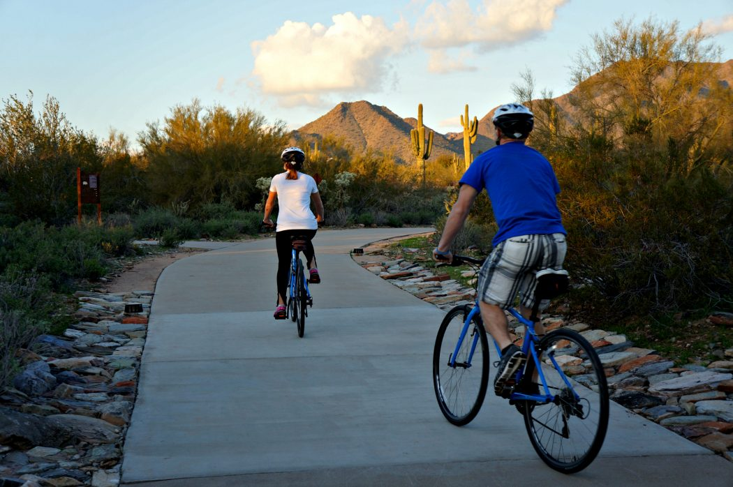 Biking is a family friendly activity in Scottsdale AZ